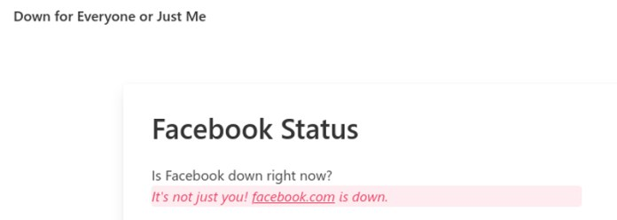 Facebook, WhatsApp and Instagram are Down - When will the issue be Resolved