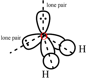 5) Explain the formation of H2O molecules on the basis of