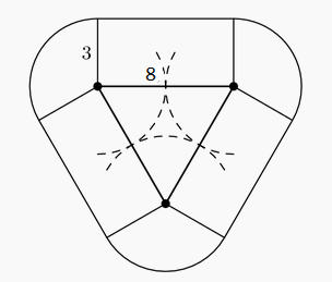 an equilateral triangle has side length 8 the area of