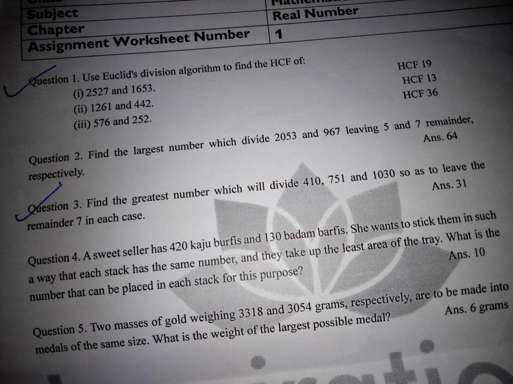 Solve This Chapter Assignment Worksheet Number Real
