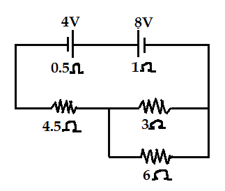 In the circuit diagram shown in figure the cells E1 and E2