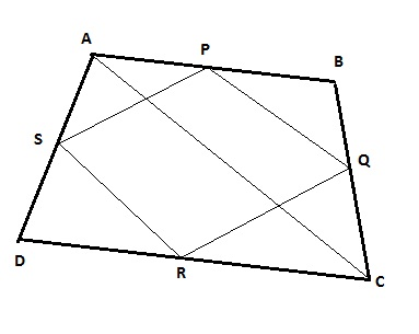 Prove that the quadrilateral formed by joining the