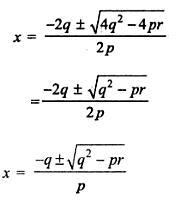 If p , q, r are in G P and the equation px^2 + 2qx + r = 0