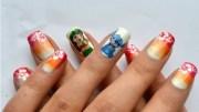 lilo and stitch - nail art