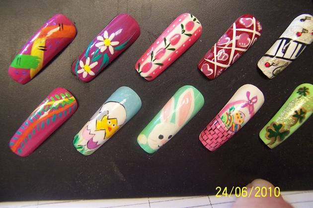 Assortment Of Nail Art Board Nail Art Gallery