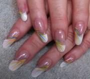 fun in sun - nail art