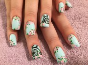 bicycle built two - nail art