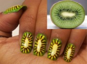 kiwi nail design - art