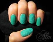 velvet nails - nail art