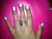 black & white graphic nails - nail