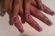 diamond nails - nail art