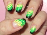 jamaican nail design - Nail Art Gallery