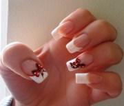 french nails - nail art