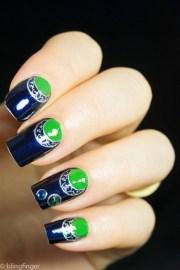 blue moon manicure - nail