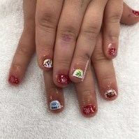 Little Girls Christmas - Nail Art Gallery