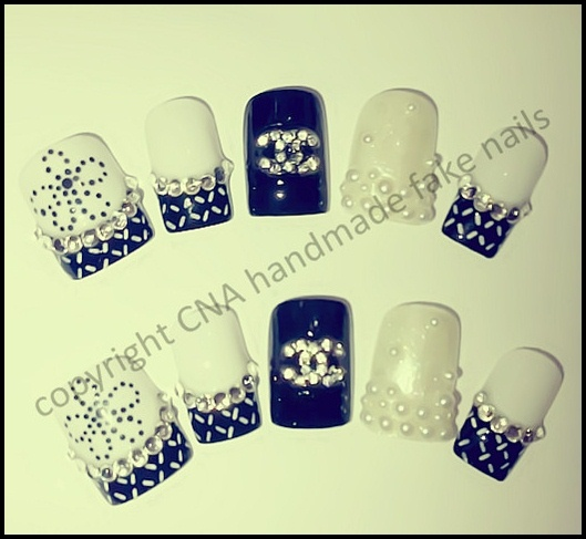 Chanel Nail Jewellery Nail Art Gallery