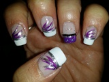 French Tip With Design