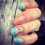 beach - nail art