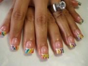 summer sport - nail art