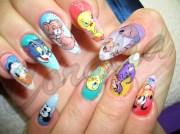 cartoon network - nail art