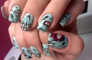 iron fist nails gel - nail art