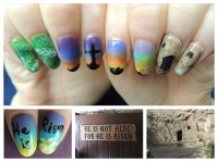Christian Easter Nails - Nail Art Gallery