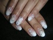 wedding nails - nail art