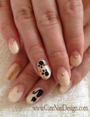cat nails - nail art