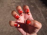 Ode to Denver Broncos - Nail Art Gallery
