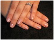 natural wedding nails - nail art