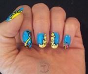 day beach - nail art