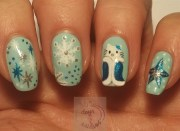 kitty ice princess - nail