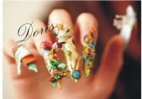 dali nail art, 3d acrylic - Nail Art Gallery