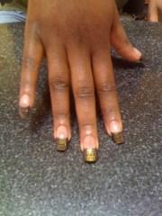 fendi nails - nail art