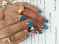 Natural Nails with Gel Polish - Nail Art Gallery