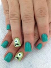 mike monster - nail art