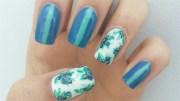 blueberry nails - nail art