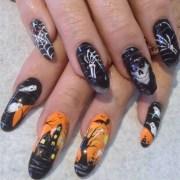 halloween design - nail art