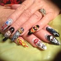 Crazy Halloween Nails - Nail Art Gallery