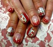 country chic - nail art