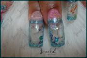glamour nails - nail art