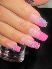 barbie nails - nail art