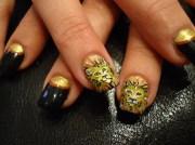lion - nail art