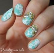 beach theme - nail art