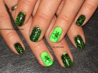 OPI Black Spotted ... Poisonous lizard - Nail Art Gallery