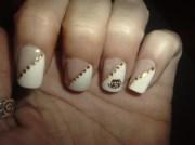 versace nails - nail art
