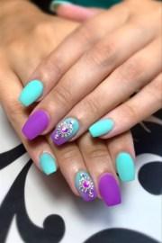 pastel matte - nail art