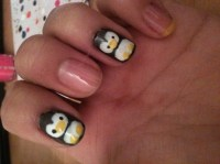 Penguins - Nail Art Gallery