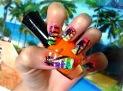 beach nails design - nail art