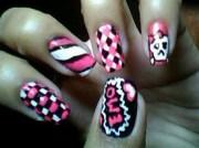 emo art - nail